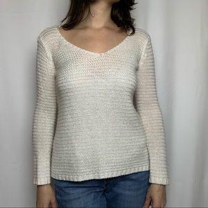 H&M Loose Knit V-Neck Sweater